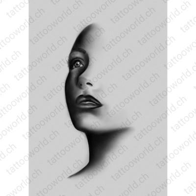Woman Shadow Portrait